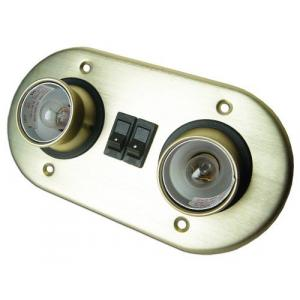 Lámpara Interior Doble