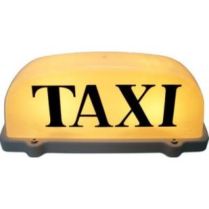 Copete Taxi con Luz